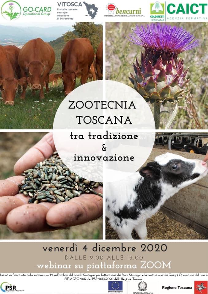 """Webinar su """"Zootecnia toscana. Tra tradizione e innovazione"""""""